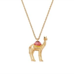 Kate Spade Spice Things Up Camel Necklace